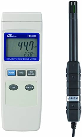 FUSOデジタル温湿度・露点計HD-3008