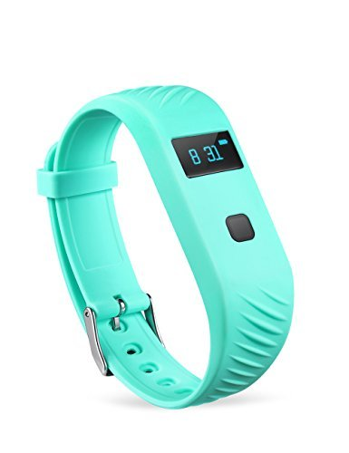 @JSK 3D Sensor Non bluetooth fitness pedometer, fitness wristband with calorie burning and steps counting function, no need pair with mobile phone, suitable for both children and adults