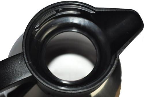 1,3 l Emsa Konsul Quick Tip Caraffa termica colore Acciaio//Nero