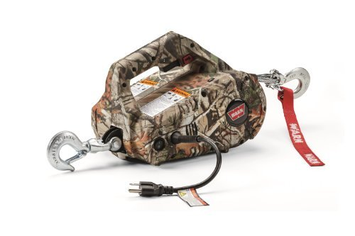 warn-885020-camouflage-ac-powered-corded-pullzall-portable-lifting-and-pulling-tool-by-warn