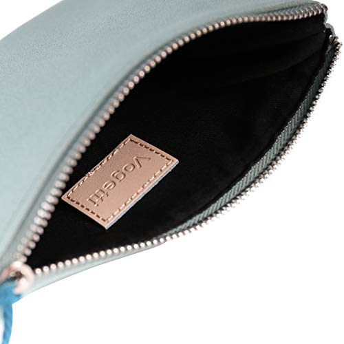 05 Mint Faux Handbag Green Clutch Purse Accent Vegan with Casual Tassel Suede Pouch for Women Bag W6gOg1cF