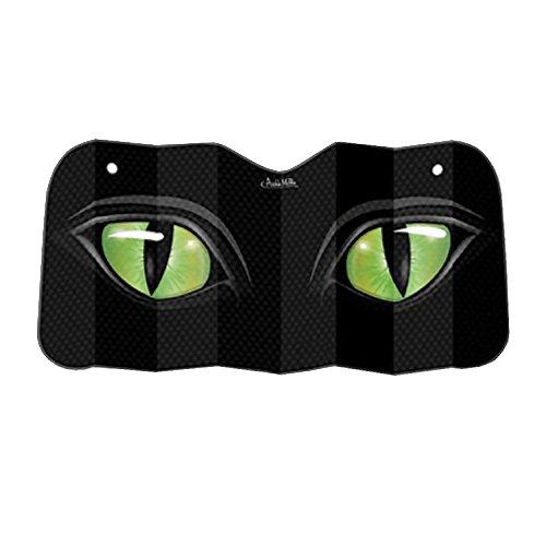 Archie McPhee Auto Sunshade, Cat Eyes