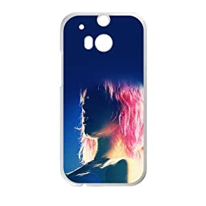 Hayley Williams Pink Hair HTC One M8 Cell Phone Case White DIY Present pjz003_6493818