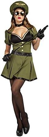 Car&Gus Disfraz de Militar para Mujer: Amazon.es: Juguetes y juegos