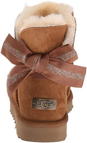 Boot Bailey Fashion W Bow Mini Women's Customizable Chestnut UGG wCxRqY