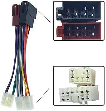FEELDO Adaptador de cable de conversi/ón est/éreo para Toyota Lexus Daihatsu a radio CD ISO CD original