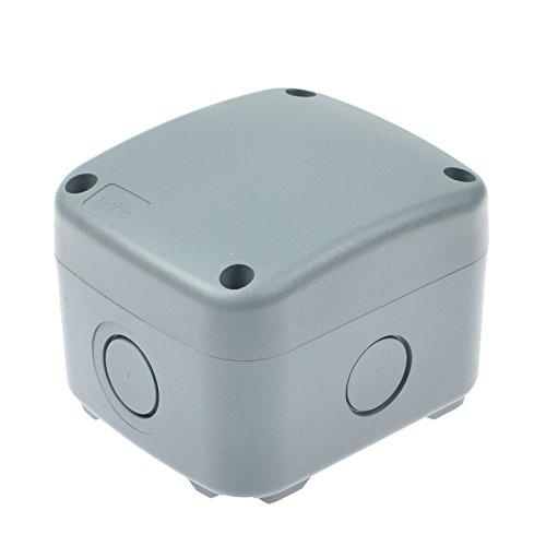 Nineleaf ABS Plastic Dustproof Waterproof IP66 Junction Box Universal Electrical Project Enclosure White 3.38x 2.91 x 2.44 (86x74x62mm)