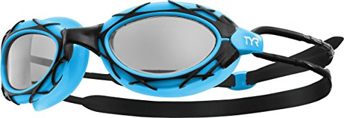 Racing Goggles Pro - TYR Nest Pro Goggles, Black/Blue