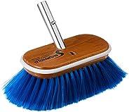 Shurhold Deck Brush with Extra Soft Blue Nylon Bristles