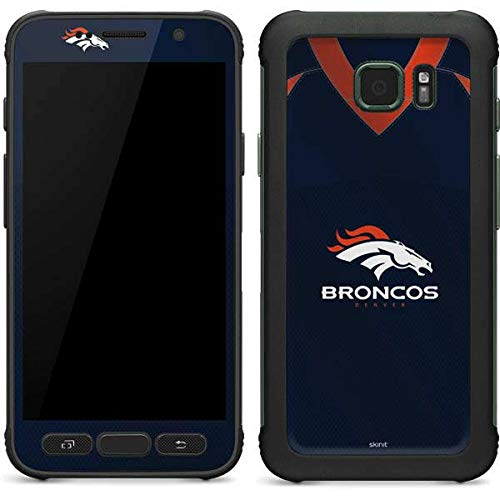 - Skinit Denver Broncos Team Jersey Galaxy S7 Active Skin - Officially Licensed NFL Phone Decal - Ultra Thin, Lightweight Vinyl Decal Protection
