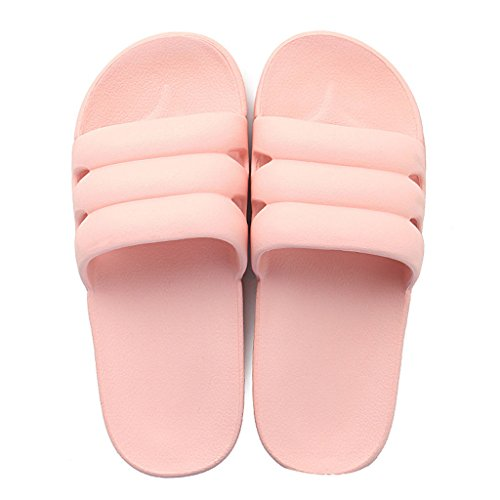 ligero EU36 Zapatillas Flip interior XIANG ducha baño sandalias UK4 Home LI Tamaño púrpura Mujer Summer Luz SHI Slippers antideslizante Color CN36 SHOP ligero Pink Flops z8xw5Z1qn