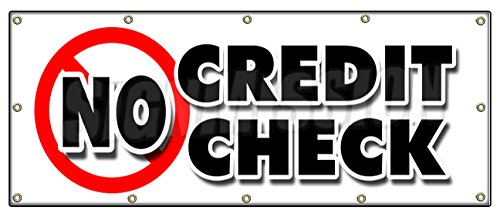 No Credit Check Car Loans >> 48 X120 No Credit Check Banner Sign Car Automobile Pay Here Furniture Appliance