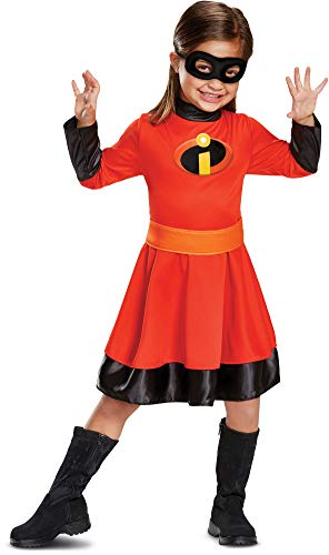 Disguise Violet Classic Toddler Child Costume, Red,