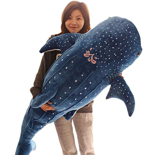 (m1yoyo-Plushtoys Stuffed & Plush Animals Cartoon Blue Whale Shark Stuffed Plush Toys Big Dolphin Baby Soft Animal Pillow Dolls Children Birthday Gifts 2+ Years Old)