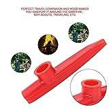 Kazoo, RiToEasysports Plastic Mini Portable Flute