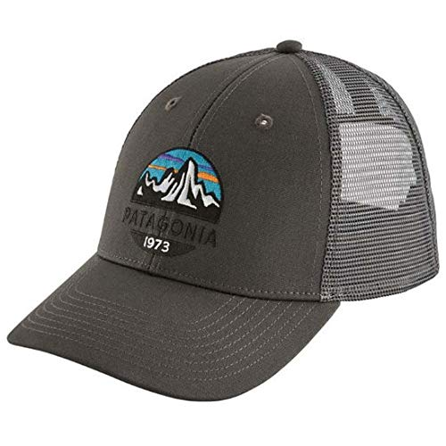Patagonia Fitz Roy Scope LoPro Trucker Hat (Forge Grey)