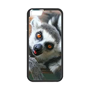 """ALICASE Diy Hard Cover Case Of Lemur for iPhone 6 (4.7"""") [Pattern-1]"""