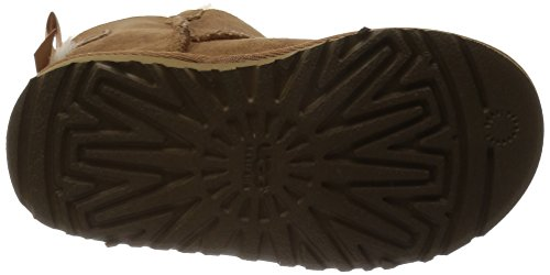 UGG Australia Mini Bailey Bow, Mocasines para Bebés Marrón (Chestnut)