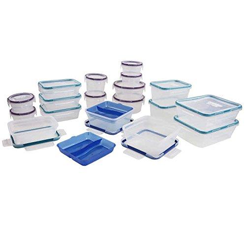 Snapware Plastic Food Storage Set, 38 Pieces