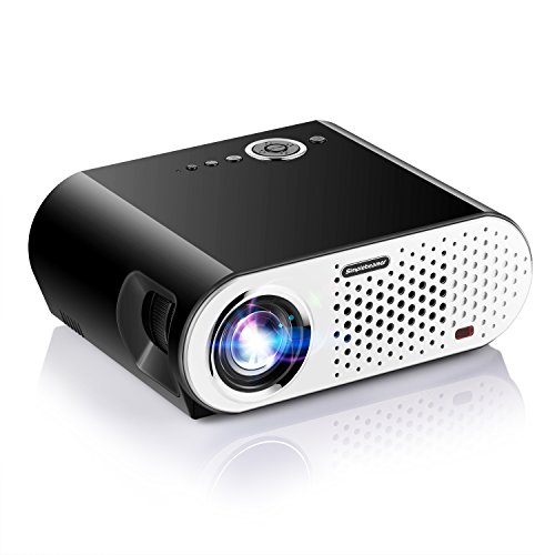 Why Choose Portable Video Projector, NEW UPGRADED Papake GP90 Home Theater Multimedia LED Video Offi...