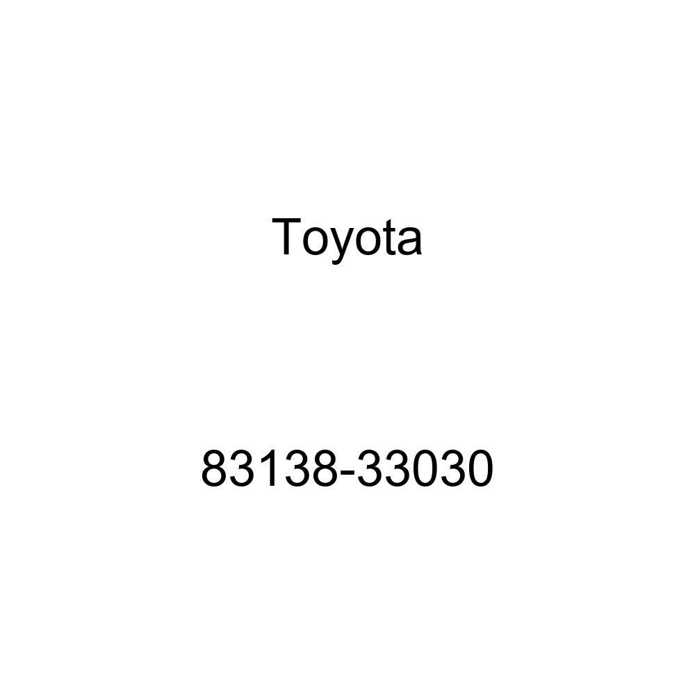 Toyota 83138-33030 Speedometer Glass