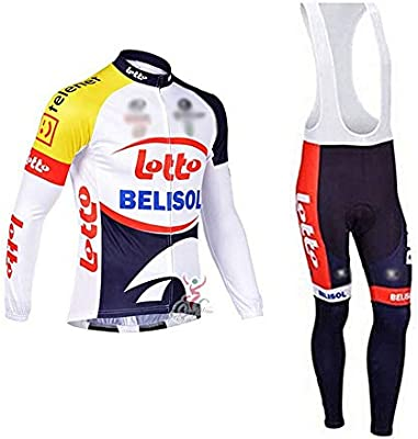 Wulibike Conjunto Ciclismo Hombre Equipo Traje Ciclismo Invierno ...