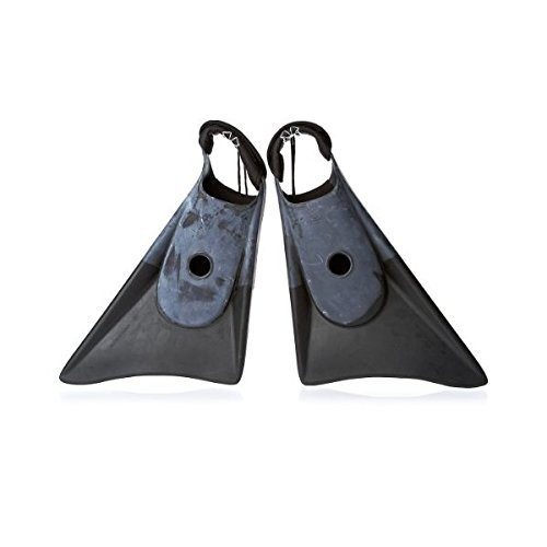Churchill Makapuu PRO Swim/Bodyboard fins - Performance. With Neoprene insert and Tethers included (Medium/Large) (Pro Boogie Boards compare prices)
