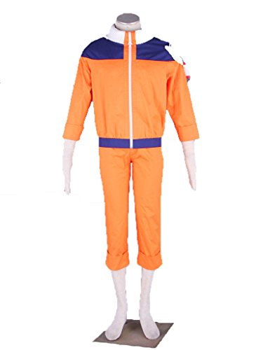 Wsysnl Japanese Anime Cosplay Costume for Uzumaki Naruto Adult/Kids by Wsysnl (Image #7)