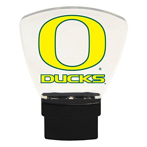 Authentic Street Signs NCAA Officially Licensed-LED NIGHT LIGHT-Super Energy Efficient-Prime Power Saving 0.5 watt, Plug In-Great Sports Fan gift for Adults-Babies-Kids Room (Oregon Ducks)