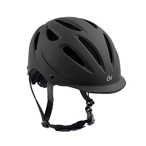 Ovation Women's Protege Riding Helmet, Black Matte, Medium/Large