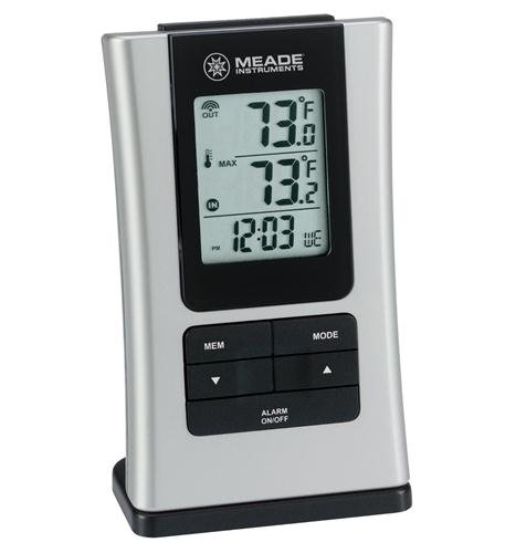 Inside/Outside Thermometer Computers, Electronics, Office Supplies, Computing by Meade Instruments