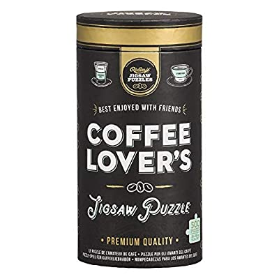 Ridley's Games Coffee Lovers 500-Piece Activity Jigsaw Puzzle: Toys & Games