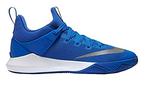 NIKE Mens Zoom Shift Game Royal/White Nylon Basketball Shoes 6.5 M US YBGoCROxPh