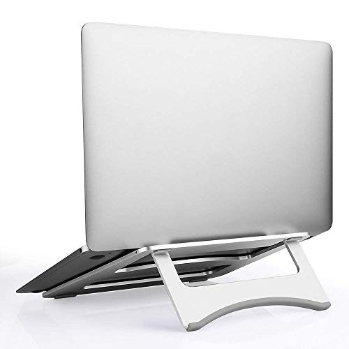 Telaero Folding Aluminum MacBook Stand Ventilated Laptop Stand for 7-15