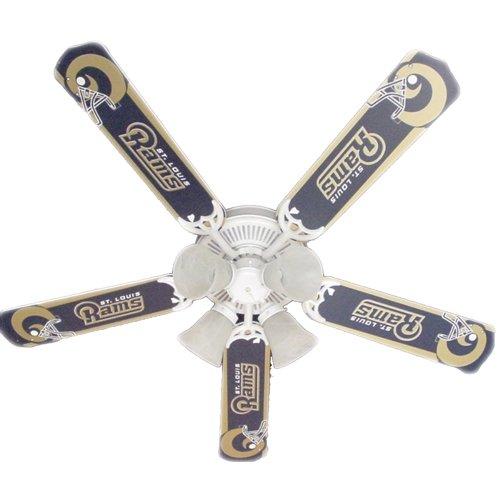 Louis Rams Nfl Fan - Ceiling Fan Designers Ceiling Fan, Nfl St. Louis Rams Football, 42