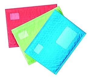 Scotch Smart Mailer, Bubble Plastic Mailer, 6 x 9 Inch, 12 Pack (8913-CLR),Assorted colors