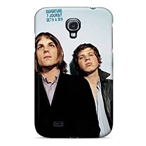 Shock Absorption Hard Phone Cover For Samsung Galaxy S4 With Provide Private Custom Realistic Kings Of Leon Band Skin EricHowe