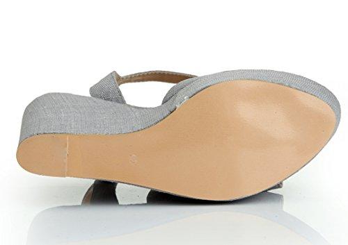 TDA - plataforma mujer gris