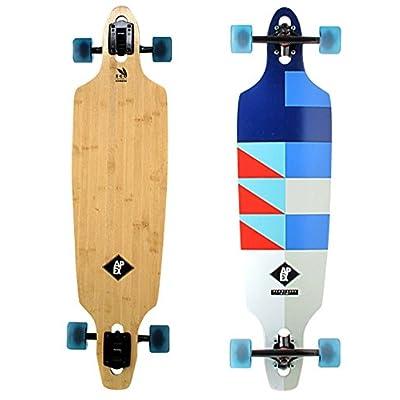 "Apex longboard promenade mK2 hybrid 9.6 ""x 38"" drop through multicolored"