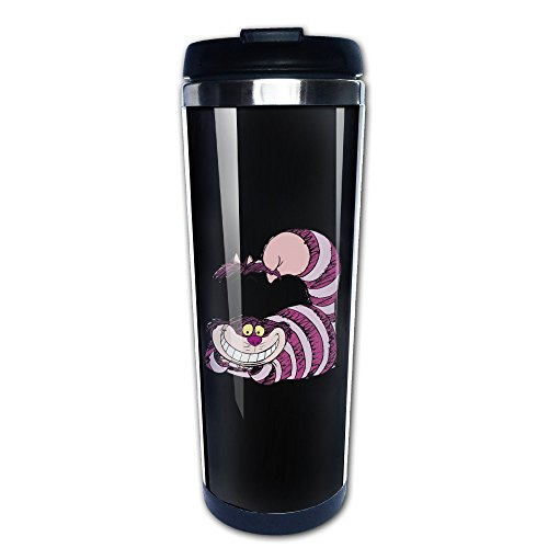 Alice In Wonderland Cheshire Cat Tea Mugs Stainless Steel Coffee Cup