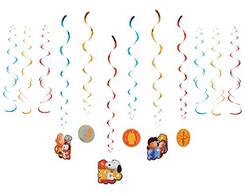 American Greetings Peanuts Hanging Party Decorations (Snoopy Party Supplies compare prices)