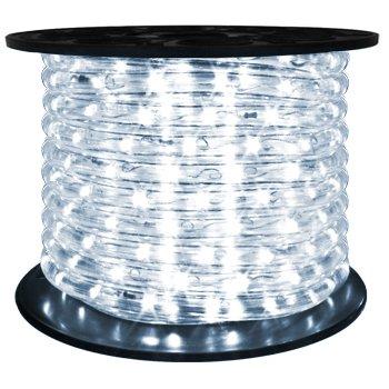 Brilliant 120 Volt LED Rope Light - 148 Feet