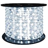 Brilliant Brand Cool White 120 Volt LED Rope Light - 148 Feet (Directional)