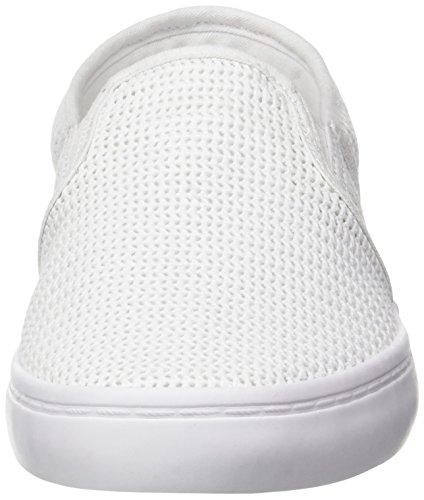 Lacoste 217 Mujer para Blanco Gazon Blanc Bajos 2 gCqw68g