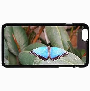 Fashion Unique Design Protective Cellphone Back Cover Case For iPhone 6 Plus Case Farfalla 11 Black