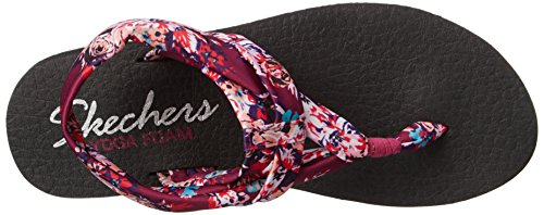 2014 cheap sale official cheap price Skechers Cali Women's Meditation Slingback Yoga Flip-Flop Raspberry Floral sale 2014 9awiA5