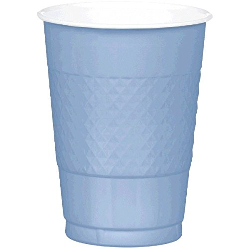 Amscan Reusable Pastel Blue Plastic Cups, 16 Oz., 20 Ct. | Party Tableware