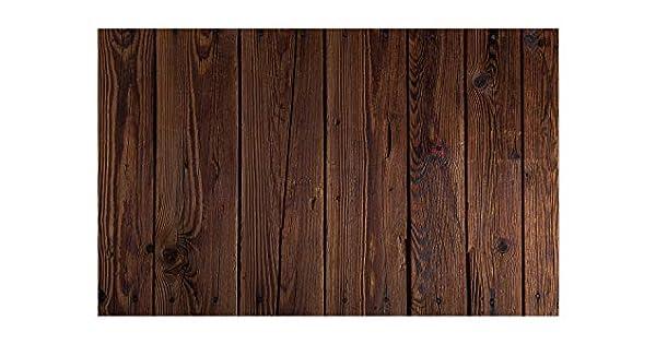 Amazon.com: Alfombrilla de puerta grande, diseño de madera ...