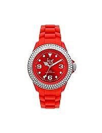 Ice-Watch ST.RS.U.S.10 Reloj Análogo Unisex, rojo