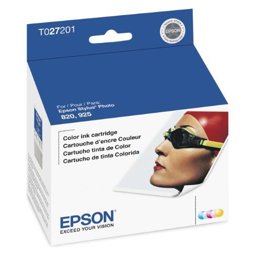 Epson T027201 Inkjet Cartridge (Color)